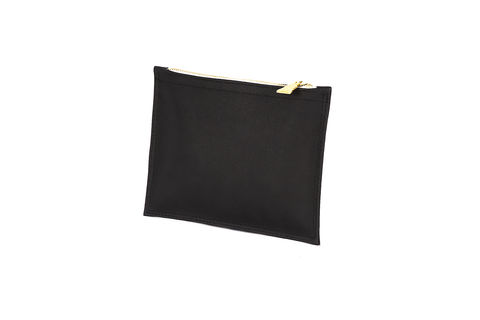 Black,Primrose,Pouch,Clutch, Cork, zips, Vegan