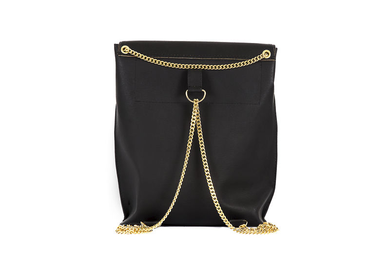 Black Primrose Chain Rucksack - product images  of