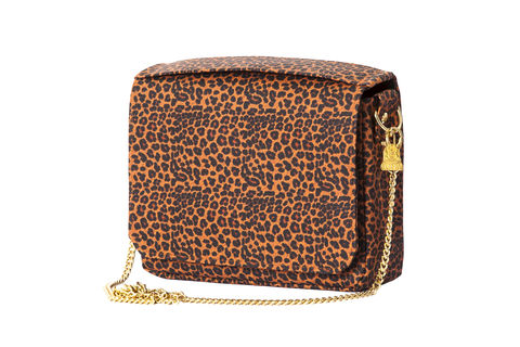 Leopard,Citibag,Vegan, leopard print, clutch, accessory, non leather, sustainable