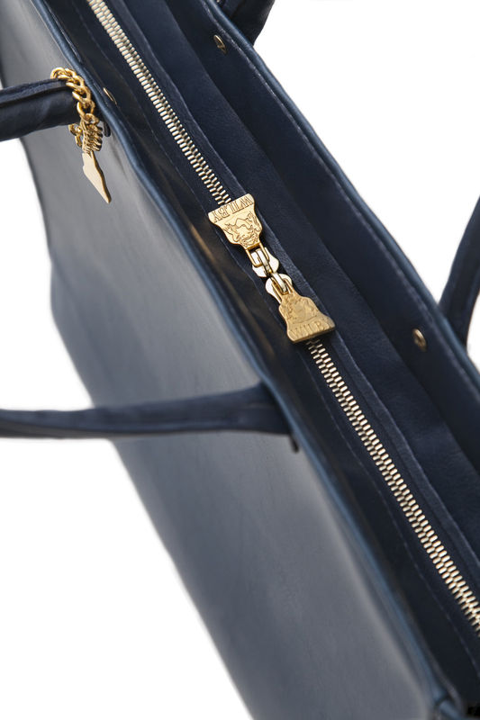 Drayton Navy Drop Tote - product images  of
