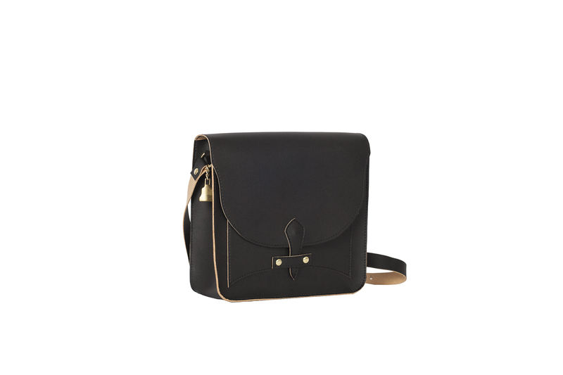 Black V Satchel   - product images  of