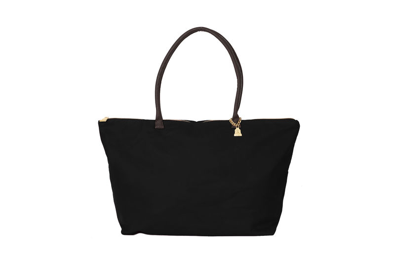 Large Black Country Bag - product images