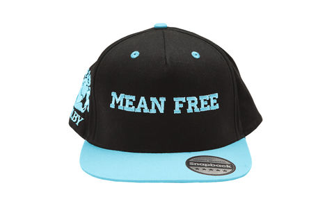Bright,Blue,Mean,Free,Urban,Cap,(Unisex),Headwear, vegan, caps, mean free