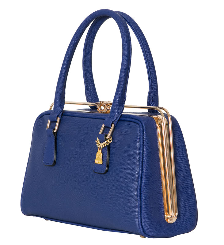 Navy She Metal Handbag - product images  of