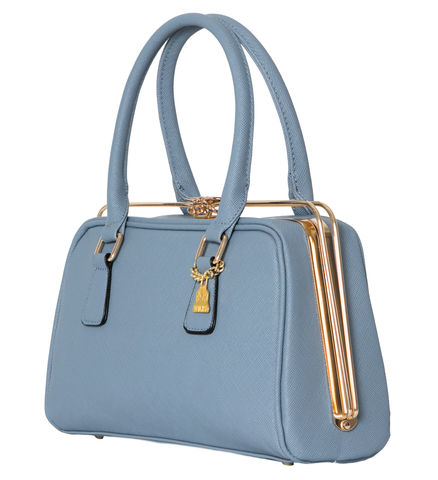 Light,Blue,She,Metal,Handbag,Vegan, World Land Trust, Vegan fashion