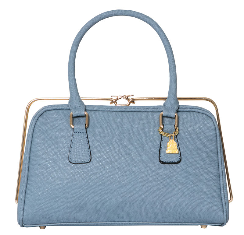 She Metal Light Blue Handbag - product images  of