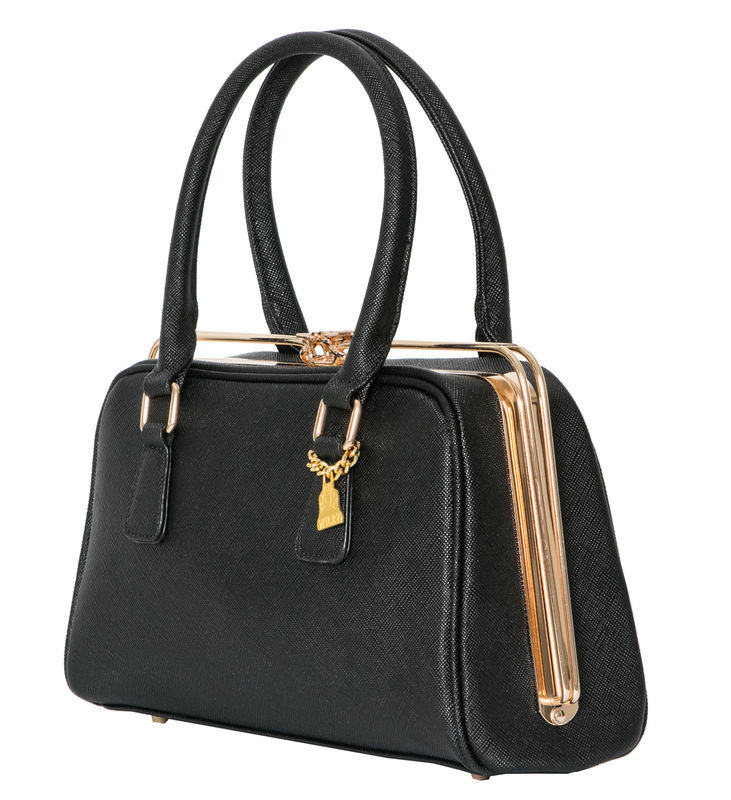 Black She Metal Handbag - product images  of