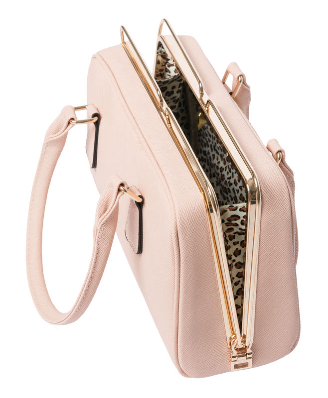 Pink She Metal Handbag - product images  of