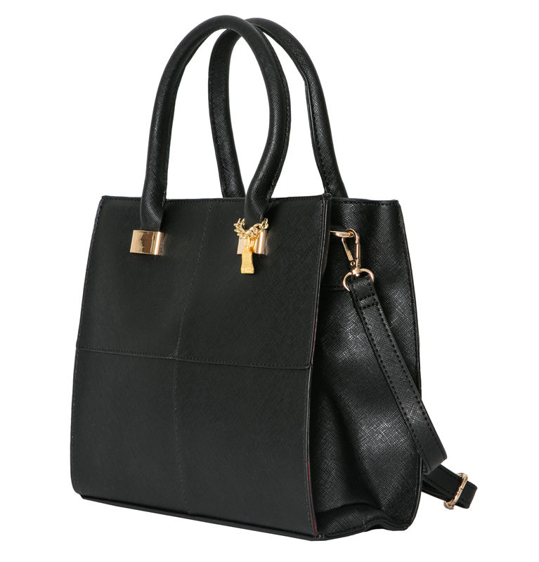 Black She Vegan Tote Bag - product images  of