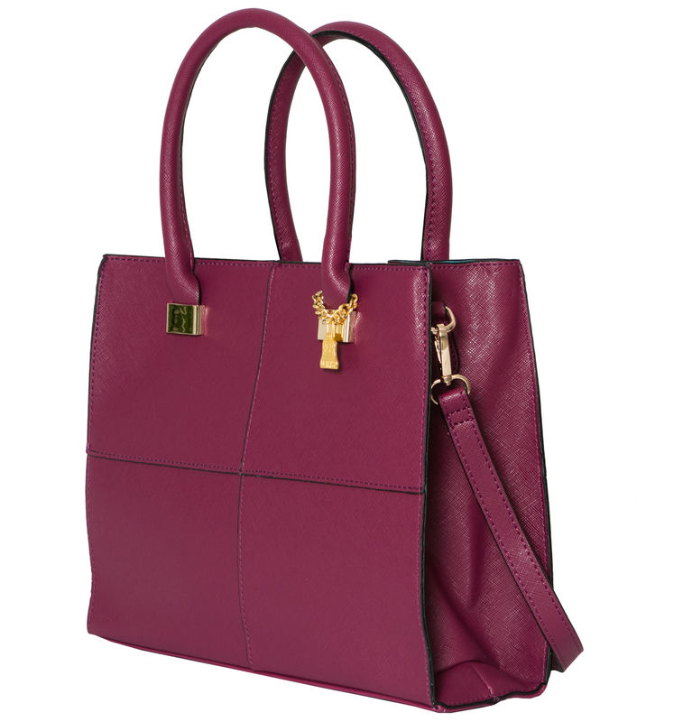 Purple She Vegan Tote - product images  of