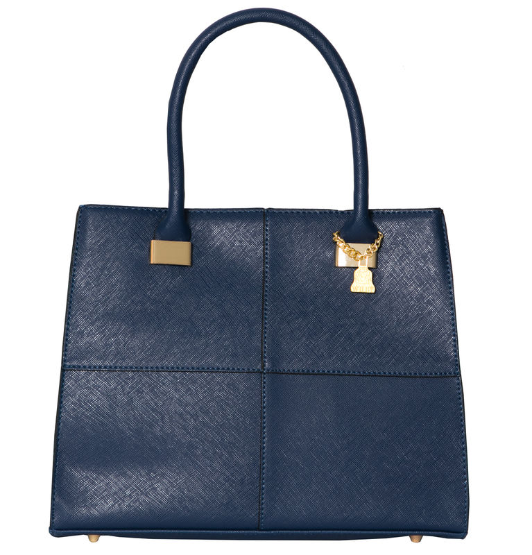 Navy She Vegan Tote - product images  of