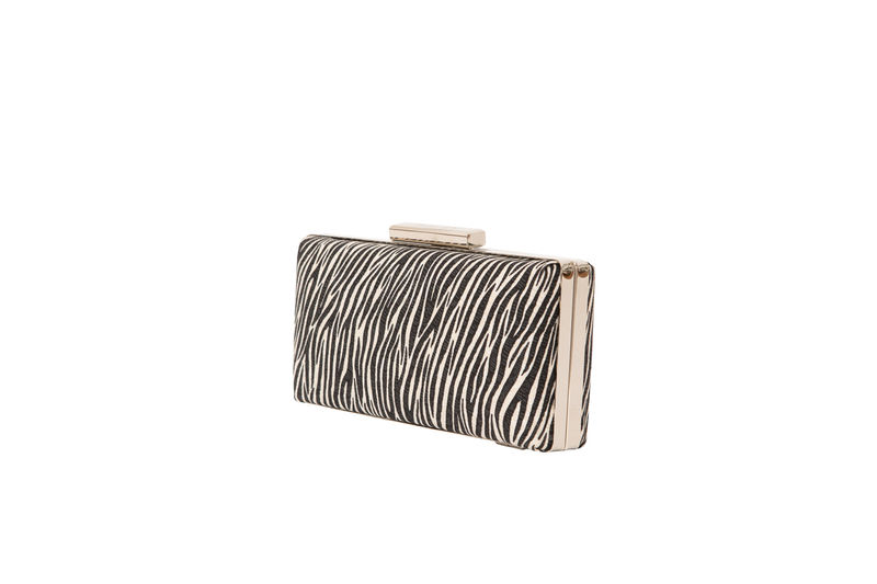 Zebra Print Clutch - product images  of