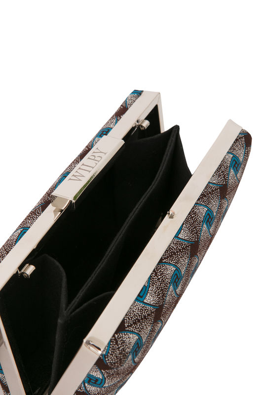 Twist Print Clutch - product images  of