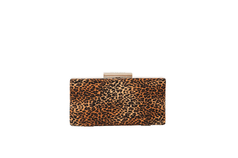 Leopard Print Clutch Bag - product images  of