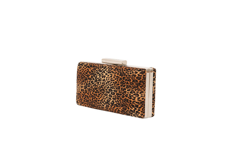 Leopard Print Clutch - product images  of