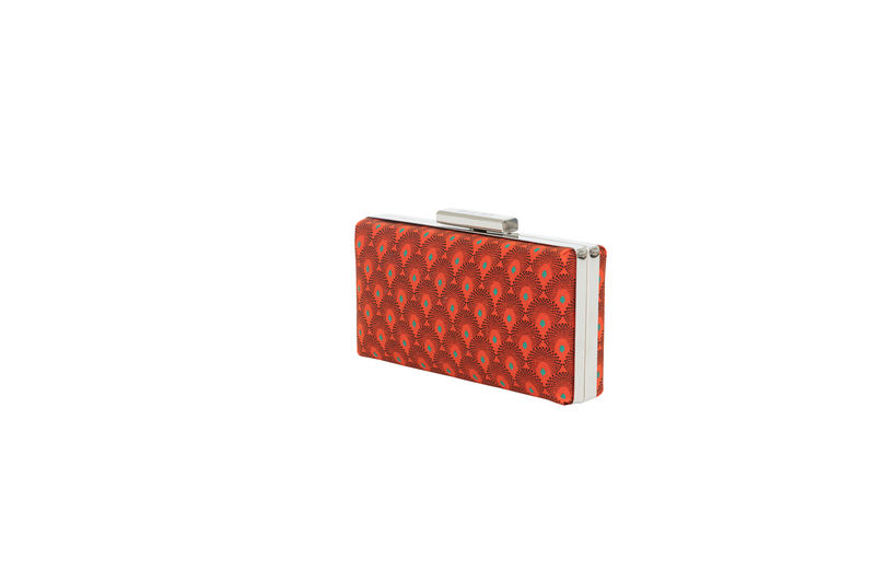 Red Print Clutch - product images  of