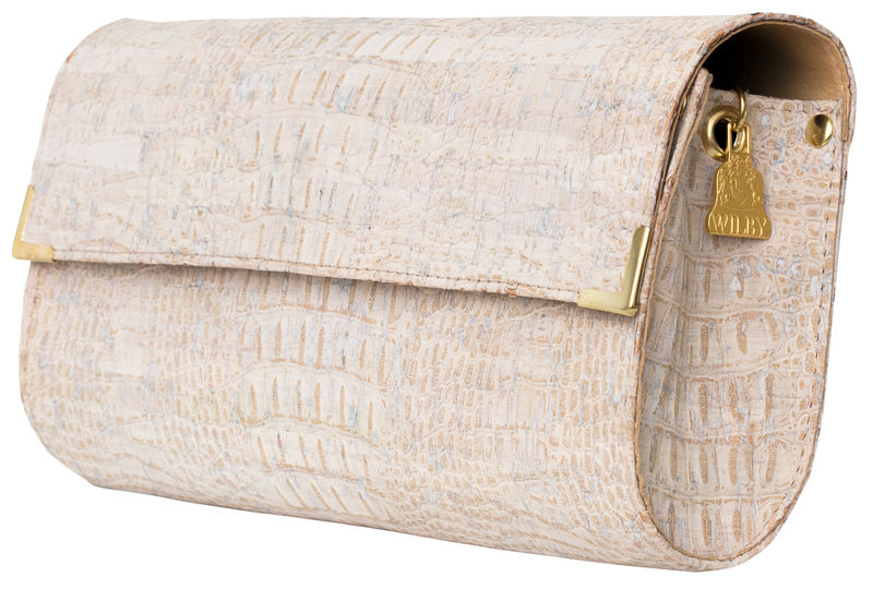 White Croc Long Clutch - product images  of