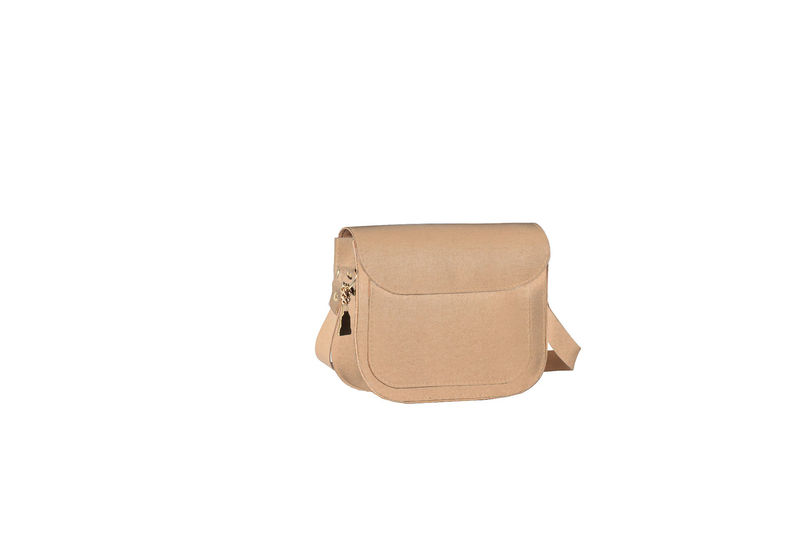 NEW! Beige Mini Tip Satchel  - product images