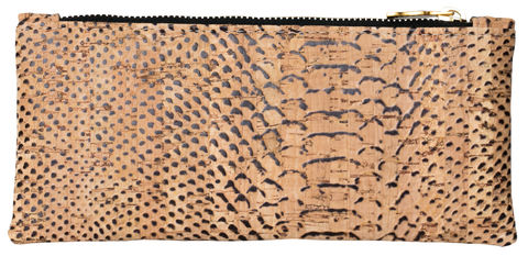 Alligator,Pouch,crocskin, vegan, sustainable, clutch