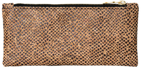 Snake,Skin,Pouch,crocskin, vegan, sustainable, clutch