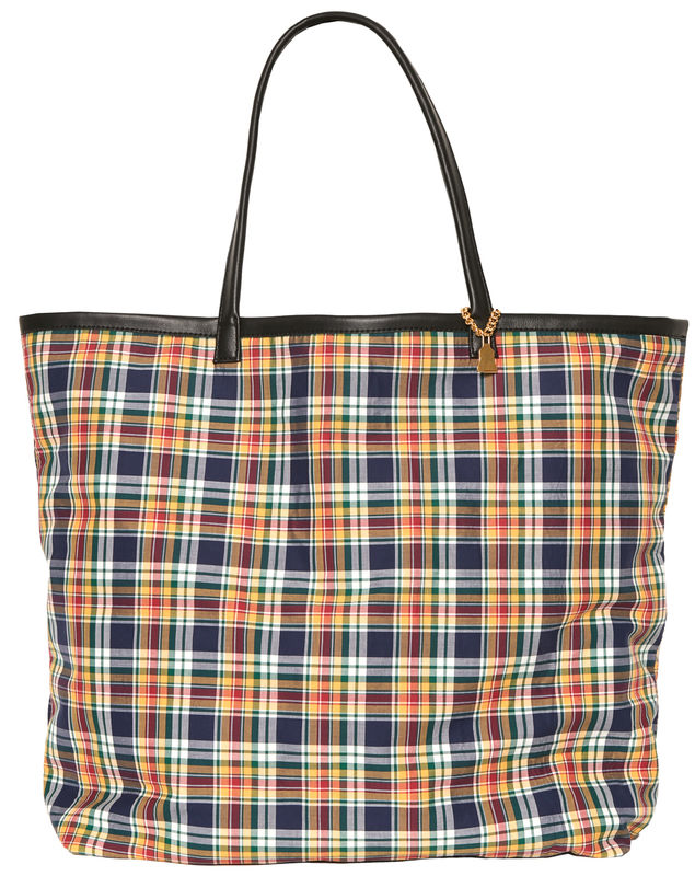 NEW! Yellow Tartan Tote - product images  of