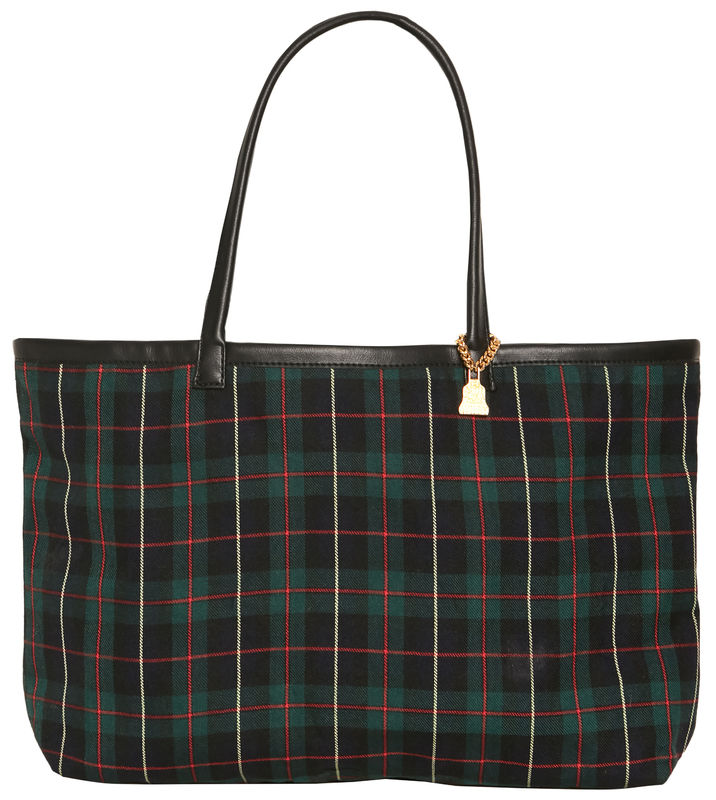 NEW! Medium Black Watch Tote - product images  of