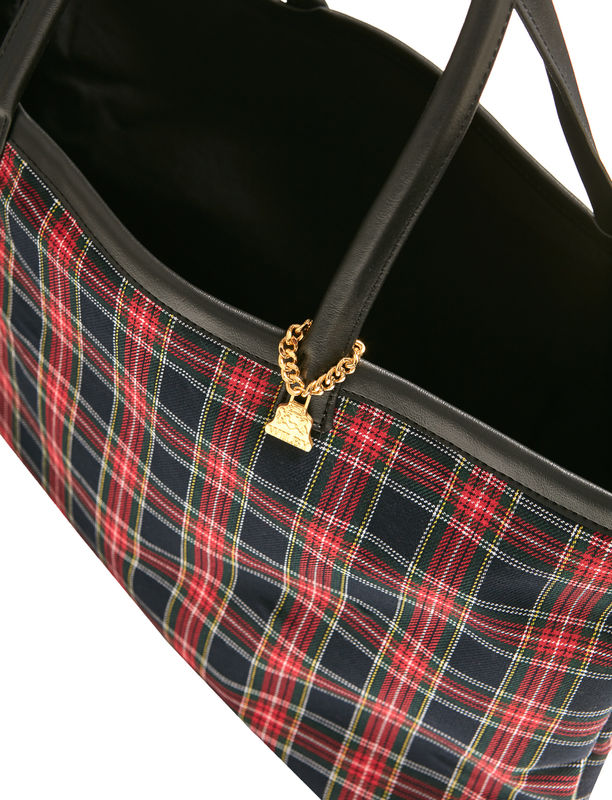 Small Redpatch Tartan Tote - product images  of