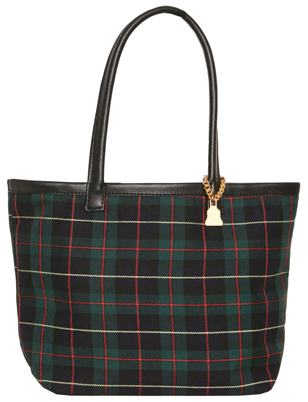 Small Black Watch Tartan Tote - product images  of