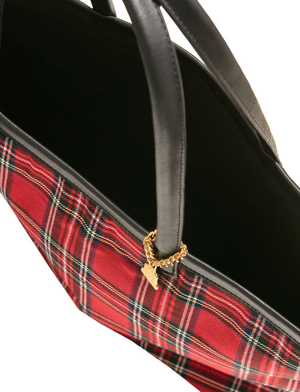 Small Royal Watch Tartan Tote - product images  of