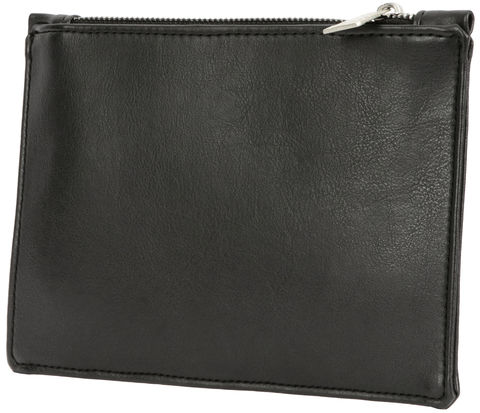 Black,Unisex,Clutch,Bag, Vegan, Clutch