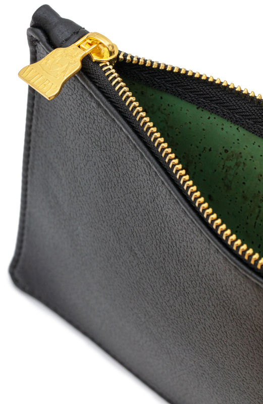 Large Black Vegan Clutch  - product images  of