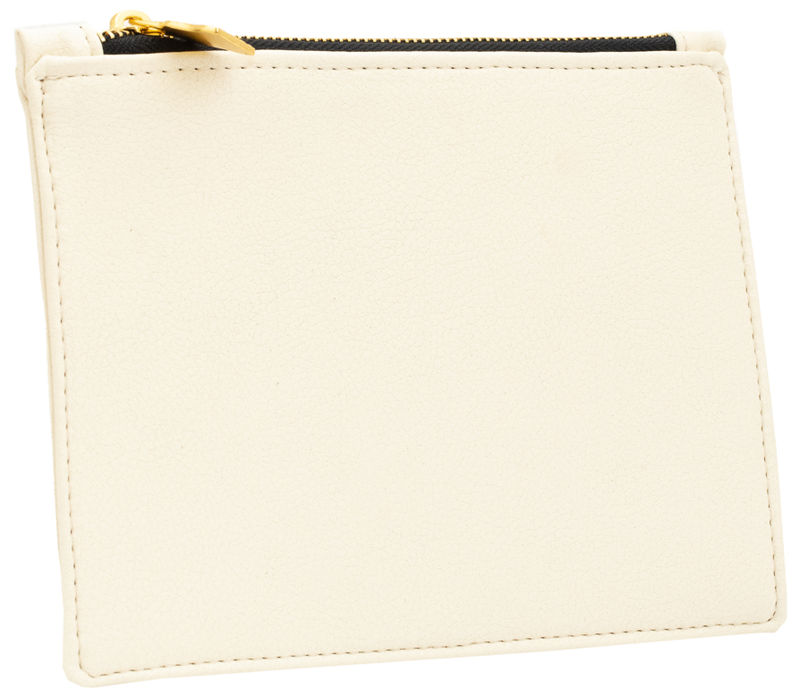 Large White Vegan Clutch  - product images  of