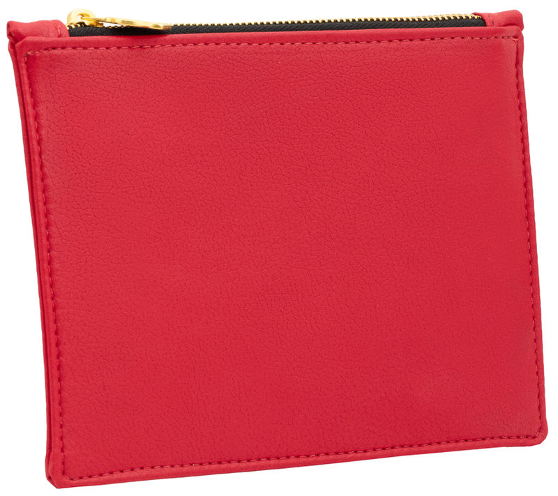 Large Red Vegan Clutch  - product images  of
