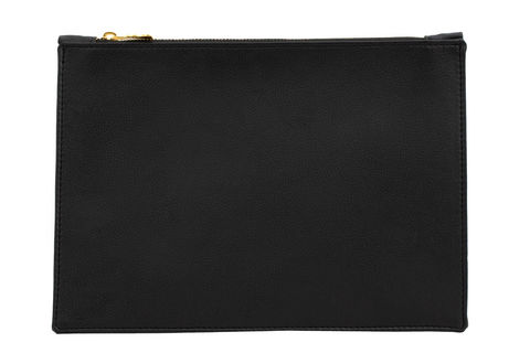 Small,Black,Vegan,Clutch,vegan, eco-friendly, clutches, black bag
