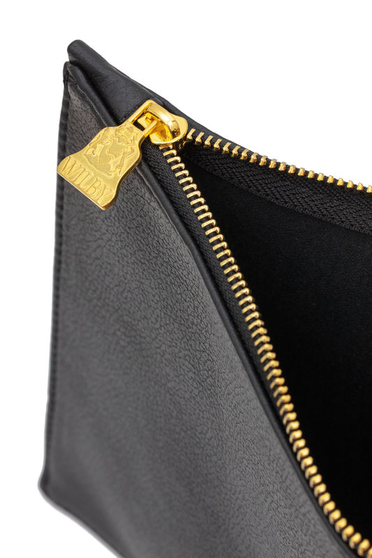 Small Black Vegan Clutch - product images  of