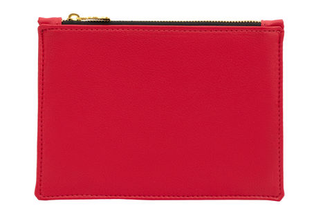 Small,Red,Vegan,Clutch,clutch, vegan bags, red clutch, eco-friendly
