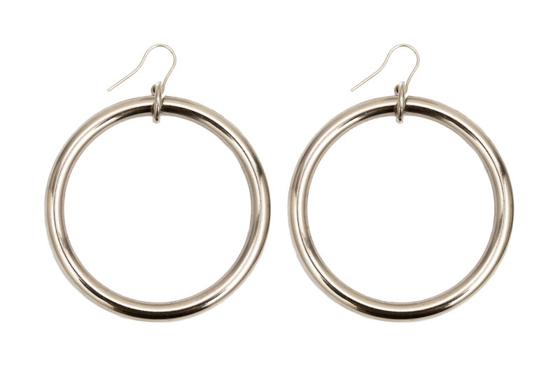 NEW! Sustainable Large Loop earrings - product images  of