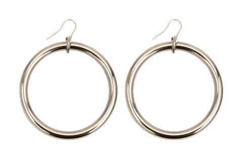NEW!,Sustainable,Large,Loop,earrings,eco jewellery, sustainable jewellery, ethical fashion.