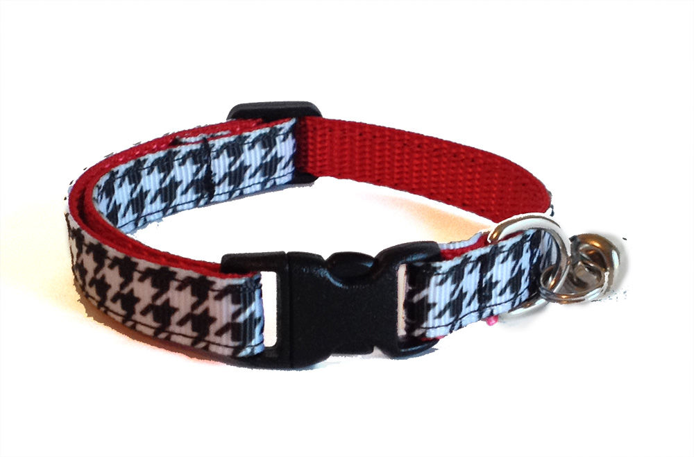 Houndstooth Cat Collar - product image