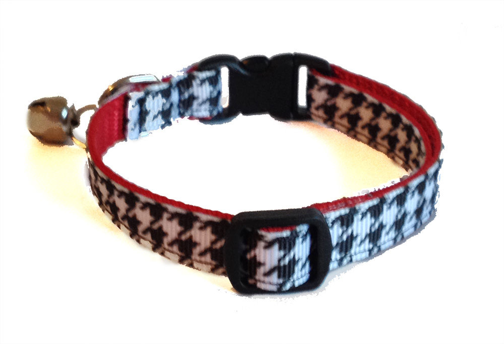 Houndstooth Cat Collar - product images  of