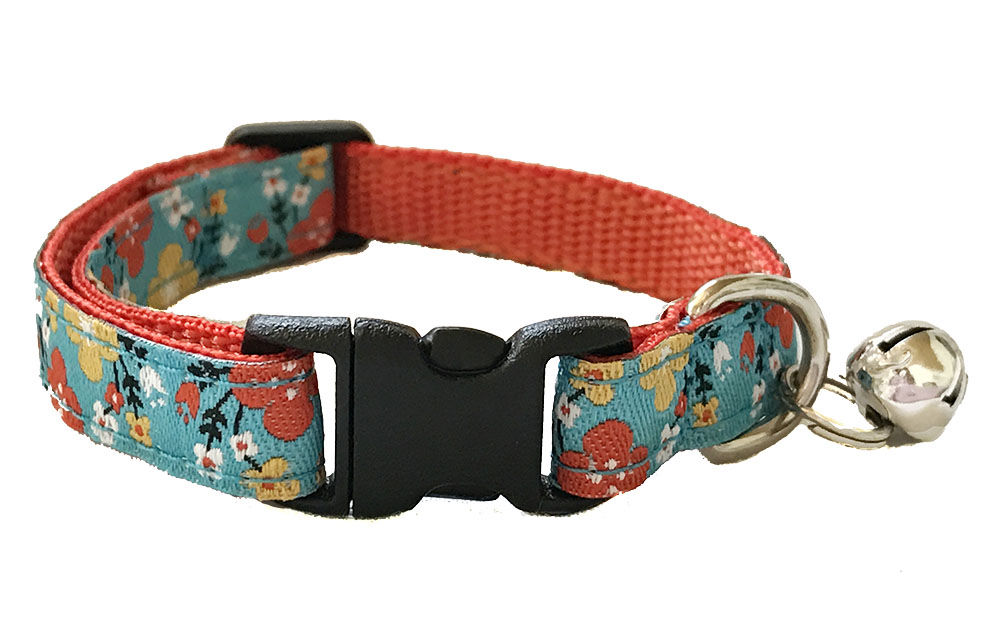 Spring Floral Cat Collar - product image