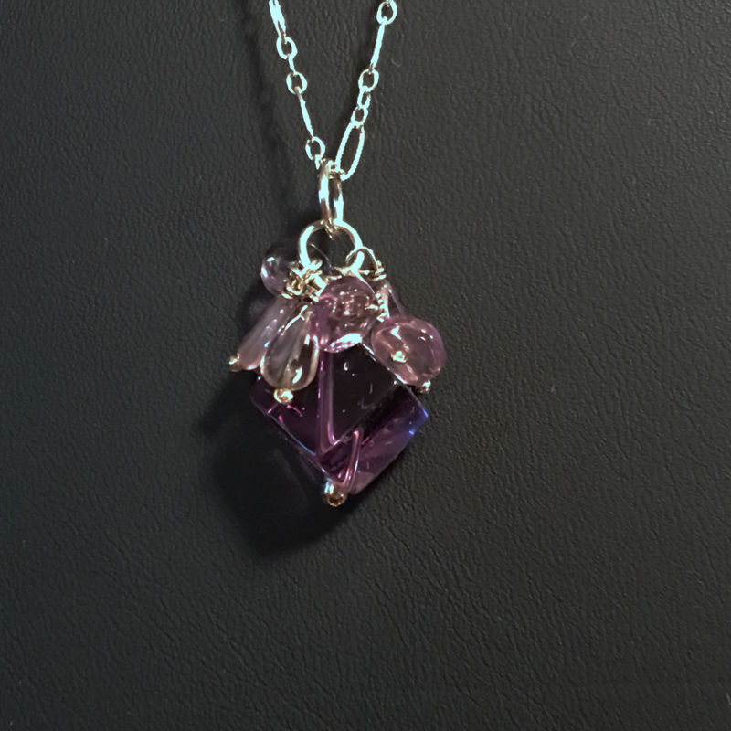 Sterling Silver and Ametrine Necklace - product images  of