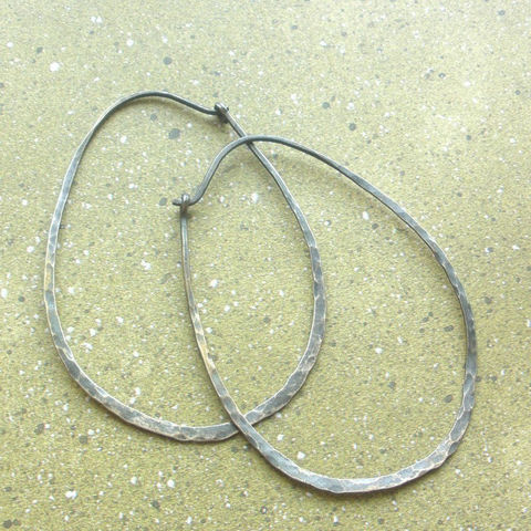 Extra,Large,Oval,Sterling,Silver,Earrings,Hammered,Hoops,-,Oxidized,Jewelry,Hoop,sterling_silver_hoop,sterling_hoops,silver_hoops,hammered_hoops,silver_oval_hoops,sterling_oval_hoops,Hammered_oval_hoops,Large_Sterling_Hoops,sstargell,Large_Sterling_hoop,Large_Silver_Hoops,Large_Oval_Hoops,sterling_silver