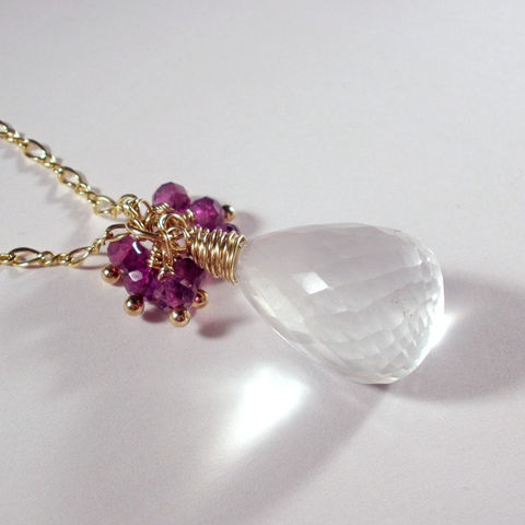 White,Iolite,,Amethyst,,and,14K,Gold,Fill,Wire,Wrapped,Necklace,Pendant,Jewelry,Wire_Wrapped,gold_necklace,gold_fill_necklace,iolite_necklace,white_iolite,amethyst_necklace,wirewrapped_iolite,wire_wrapped,wire_wrapped_pendant,iolite_pendant,cluster_necklace,sstargell,steph_stargell,valentines_day,amethys