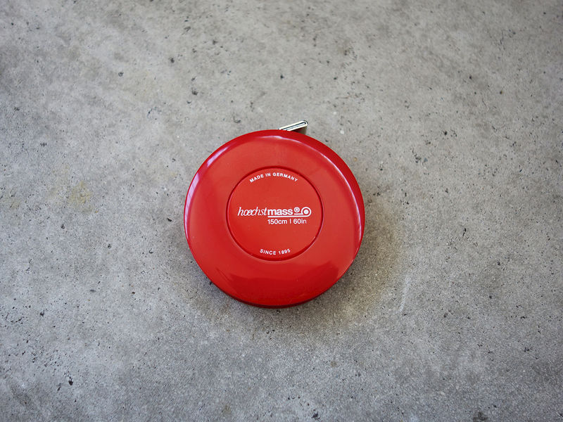 Red Rollfix Tape Measure - product images  of
