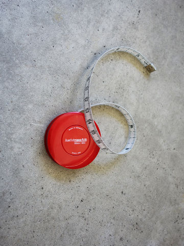 Red,Rollfix,Tape,Measure,HOECHSTMASS, rollfix, tape measure, pocket, made in Germany, red