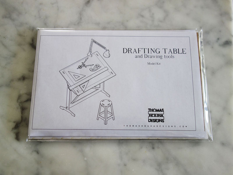 Drafting Table Model Kit - product images  of