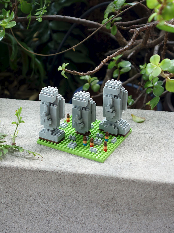 Nanoblock Easter Island Moai - product images  of