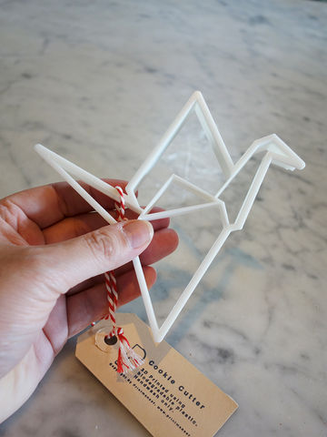 Origami Crane Cookie Cutter - product images  of