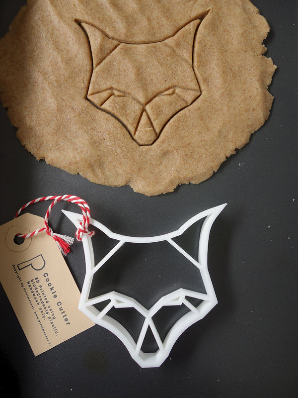 Origami Fox Cookie Cutter - product images  of